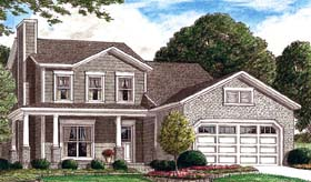 Traditional House Plan 67063 Elevation
