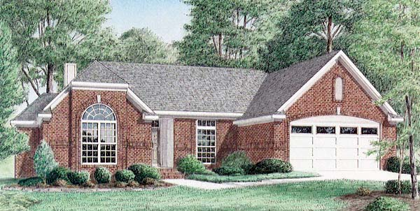 Traditional House Plan 67064 Elevation