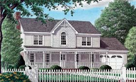 Country House Plan 67067 Elevation