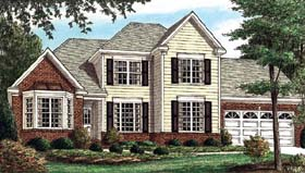 Traditional House Plan 67068 Elevation