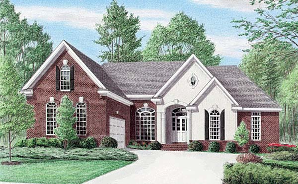 Traditional House Plan 67072 Elevation