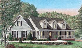 Country House Plan 67074 Elevation