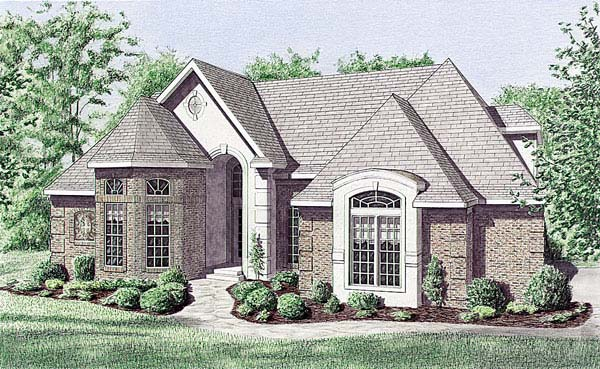 Traditional House Plan 67080 Elevation
