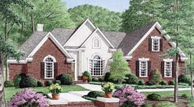 Traditional House Plan 67081 Elevation