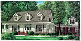 House Plan 67089 | Country Style Plan with 2519 Sq Ft, 4 Bedrooms, 4 Bathrooms, 2 Car Garage Elevation