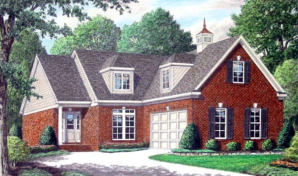 Traditional House Plan 67091 Elevation