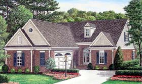 Traditional House Plan 67097 Elevation