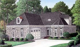 Traditional House Plan 67098 Elevation