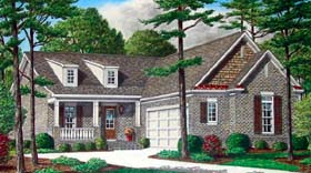 Country House Plan 67102 Elevation