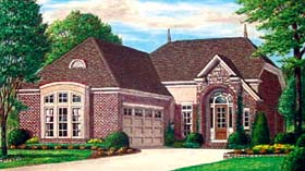 Traditional House Plan 67105 Elevation