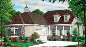 Traditional House Plan 67106 Elevation