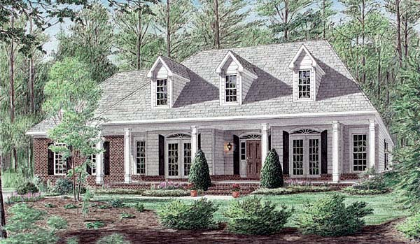 Country House Plan 67108 Elevation