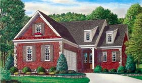 Traditional House Plan 67109 Elevation