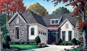 Contemporary House Plan 67110 Elevation