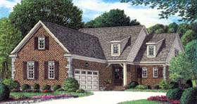 Traditional House Plan 67112 Elevation
