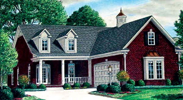 Country House Plan 67114 Elevation