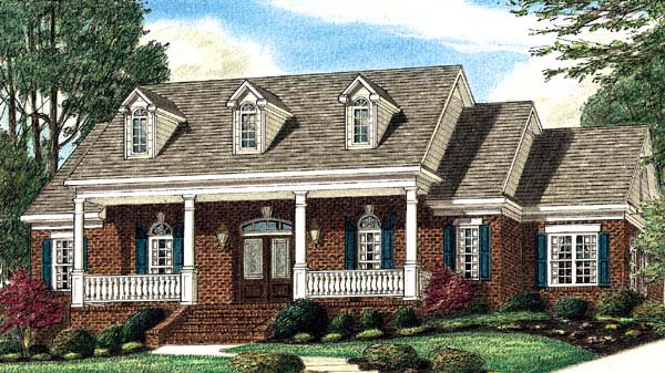 Southern House Plan 67118 Elevation