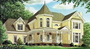 Victorian House Plan 67120 Elevation