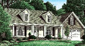 Traditional House Plan 67128 Elevation