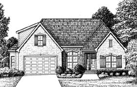 Traditional House Plan 67134 Elevation