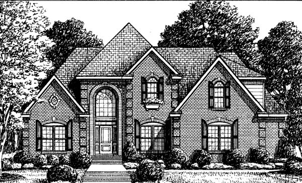 Traditional House Plan 67136 Elevation