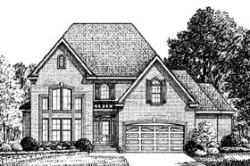 Traditional House Plan 67137 Elevation