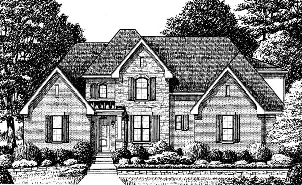 Traditional House Plan 67138 Elevation