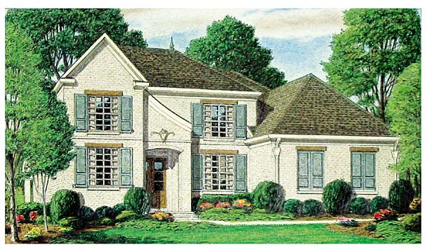 Traditional House Plan 67139 Elevation
