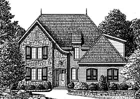 Traditional House Plan 67143 Elevation