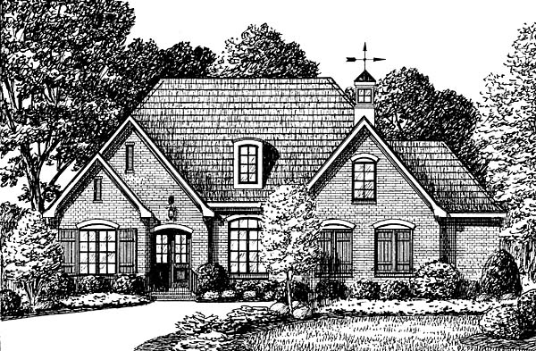 Traditional House Plan 67144 Elevation