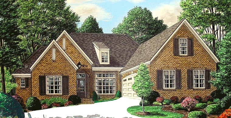 Traditional House Plan 67149 Elevation