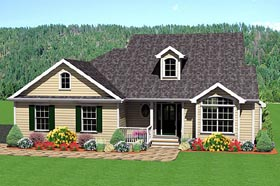 Traditional House Plan 67205 Elevation