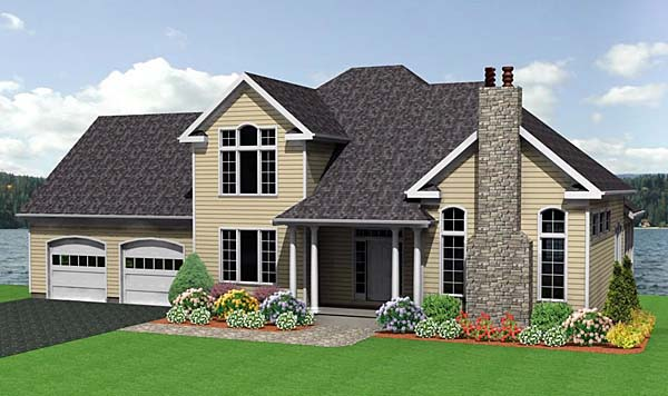 Traditional House Plan 67210 Elevation
