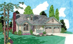 Traditional House Plan 67229 Elevation