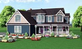 Victorian House Plan 67233 Elevation