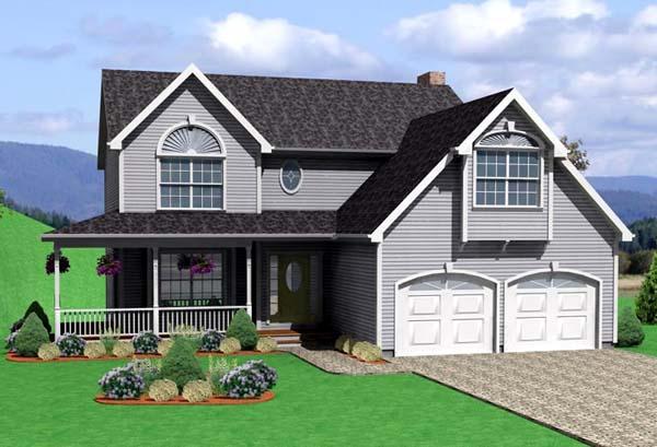 Farmhouse House Plan 67234 Elevation
