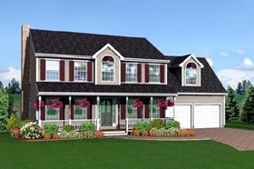 Farmhouse House Plan 67238 Elevation