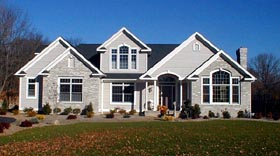 Traditional House Plan 67250 Elevation