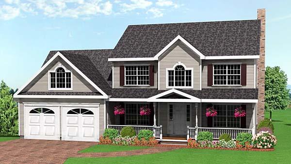 Farmhouse House Plan 67253 Elevation