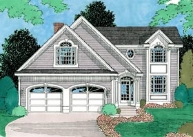 Traditional House Plan 67255 Elevation