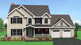 Farmhouse House Plan 67263 Elevation