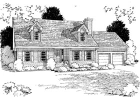 Traditional House Plan 67265 Elevation