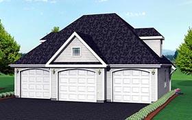 Garage Plan 67276 Elevation