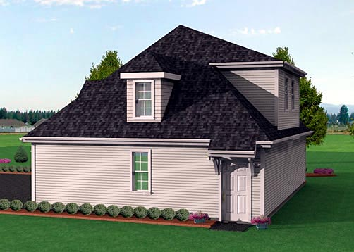 3 Car Garage Plan 67276 Picture 1