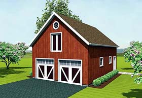 Farmhouse Garage Plan 67279 Elevation