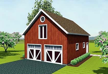 Garage Plan 67279