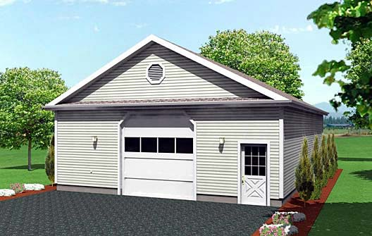Garage Plan 67294 Elevation