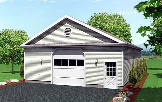 Garage Plan 67294 Elevation