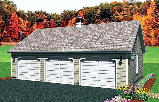 Garage Plan 67298 Elevation