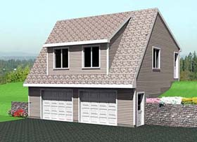 Plan Number 67300 - 715 Square Feet